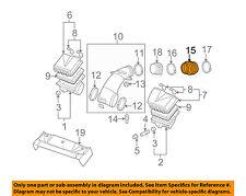 Chevrolet GM OEM 05-07 Corvette 6.0L-V8 Air Cleaner-Rear Duct 10334217