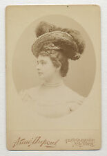 1890's OPERA SINGER Cabinet Photo by AIME DUPONT SCULPTOR, PHOTOGRAPHER