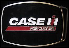 Case IH Agriculture Logo Black Enamel Belt Buckle