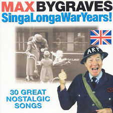 Sing-a-Long-a War Years, Vol. 1 by Max Bygraves (CD, May-1999, Prism)