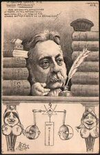 Tirage limité. Orens. L'Aquaforte n°2 1905. Le ministère Rouvier, Mr Chaumié