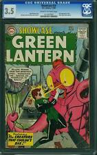 Showcase #24 CGC 3.5 DC 1960 3rd Green Lantern! Key Silver Age! 101 22 cm set