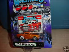 MUSCLE MACHINES '66 MUSTANG COPPER 02-48 MIP FREE USA SHIPPING