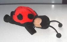 Anne Geddes Large 13.5 Inches Ladybird Bean filled Doll Perfect Condition Cute