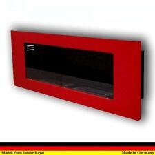 Ethanol Firegel Fireplace Cheminee Caminetti Chimenea Paris Deluxe Royal Red