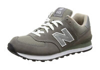 New Balance 574 Men's Running Shoe M574GS - Gray/White