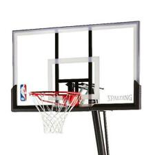"New Spalding Nba 54"" Portable Angled Pro Basketball Hoop Polycarbonate Backboard"