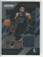 2018-19 Panini Prizm Sensational Swatches Wesley Matthews #9 Dallas Mavericks