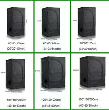 "Hydroponic Indoor ""Grow Tent"" Room Box 100% Reflective 1680D + FREE GLASSES HQ"