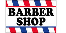 18x36 Inch Barber Shop Vinyl Banner Sign Horizontal wb