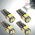 4 Lampade Led T10 Canbus 10 SMD 5630 No Errore Luci BIANCO Xenon Posizione Targa