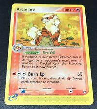 Arcanine 15/100 Non Holo Rare, Pokemon Card, EX Sandstorm Set, Rare
