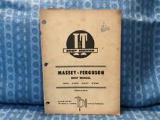 Massey-Ferguson Models Mf2745, Mf2775, Mf2805 Shop / Repair Manual