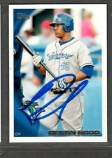 2010 Topps #3 Destin Hood Vermont Lake Monsters Signed Autograph (Z25) TPD34
