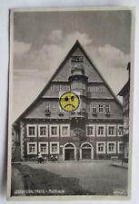 Feldpostkarte Rathaus Osterode / Harz von 1943