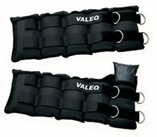 Valeo Adjustable Ankle / Wrist Weights, 10-Pounds Each, 20-Pound Total, AW20