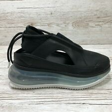 W NIKE AIR MAX FF 720 CUT OUT SANDALS BLACK size UK 5.5 EUR 39 US 8 AO3189 001