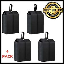 4 PK Travel Shoe Bags Tough Zip Pouch Storage Shoe Pouch Waterproof Organizer