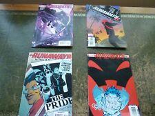 Marvel Comics  -  Runaways  set of 4