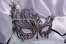 Swan Metal Prom Carnival Costume Dress Up Party Masquerade Ball Halloween Mask