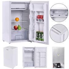3.2 Cu. Ft. Compact Single Reversible Door Mini Refrigerator and Freezer Office