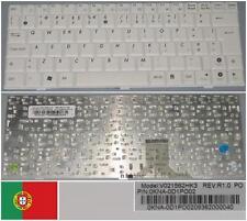 Teclado Qwerty PO Portugués ASUS EeePc EPC 1000 V021562HK3 0KNA-0D1PO02 Blanco