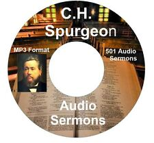 C.H. Spurgeon Bible Sermons audio book MP3s 500+ Audio Sermons Ipod compatible