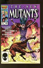 NEW MUTANTS #44 NEAR MINT- 9.2 LEGION 1986 MARVEL COMICS