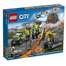 LEGO CITY 'VOLCANO EXPLORATION BASE' #60124 BRAND NEW IN SEALED BOX