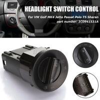 HEADLIGHT HEADLAMP FOG LIGHTS SWITCH FOR VW GOLF MK4 B5 9N 1997-2006 41121560