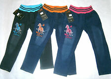 Unbranded Classic/Straight Leg Jeans (2-16 Years) for Girls