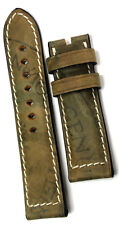 24mm Horween Lederband SHELL CORDOVAN retro Look Germany BAND STRAP Uhrband
