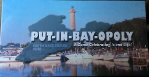 PUT-IN-BAY-OPOLY,A GAME CELEBRATING ISLAND LIFE,FACTORY SEALED, NEVER BEEN OPEN.