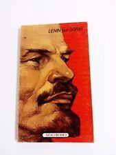 Livre LÉNINE POUR GORKI Edition Nostromo 1974
