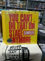 Frank Zappa 2 LP You Can'T Do That On Stage Anymore Sampler RSD 2020 Versiegelt