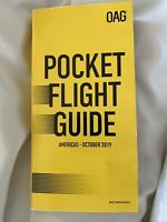 OAG POCKET FLIGHT GUIDE AMERICAS June 2020 Airlines Timetable LOTS OF CHANGES