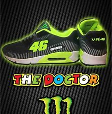 Zapatillas Deportivas Valentino Rossi Air Moto gp The Doctor max 46 Amarillas