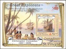St. Vincent vicina 1988 exploradores/barcos/Columbus/Marino/Navegación/transporte m/s b3733