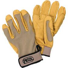 Petzl Cordex Belay Rappeling Climbing Gloves Tan Meduim K52MT