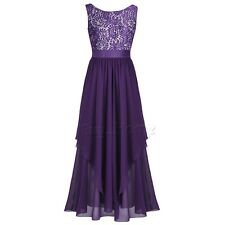 Women's Long Maxi Formal Bridesmaid Dress Evening Formal Party Cocktail Prom