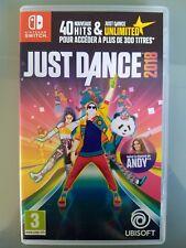 Jeu Just Dance 2018 Nintendo SWITCH comme neuf