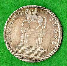 Middlesex London Charing Cross 19th secolo TOKEN ARGENTO D11 SHILLING