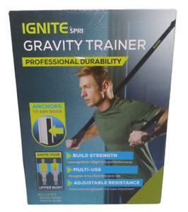 SPRI Gravity Suspension Weight Trainer- Door system home workout excercise