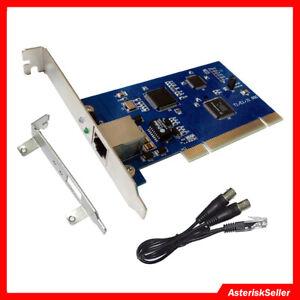 TE110P ISDN PRI Digital Asterisk Card E1 card T1 card ,Issabel FreePbx VoIP PABX