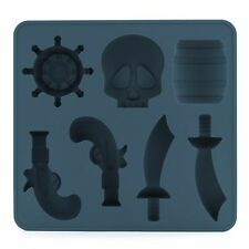 Kikkerland Pirate Silicone Ice Cube Tray / Mold