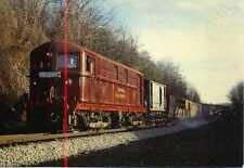LT Electric Locomotive 12 SARAH SIDDONS works Train Chorleywood  1979 postcard