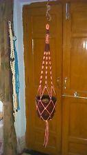 50 inch Macrame plant hanger 6 strands for big pots