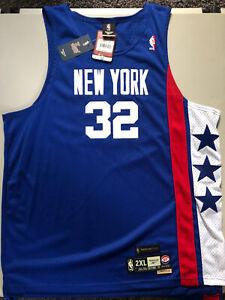 Vintage Reebok NBA New York Nets HWC JULIUS ERVING SWINGMAN SOUL JERSEY SZ 2XL