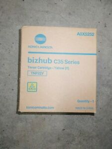Original Konica Minolta A0X5252 / TNP22Y Toner Gelb für Bizhub C 35 Series