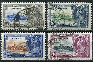 1935 Silver Jubilee Nigeria Used Set
